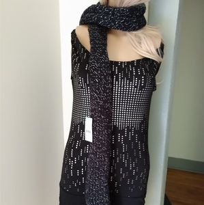 "74"" long scarf"
